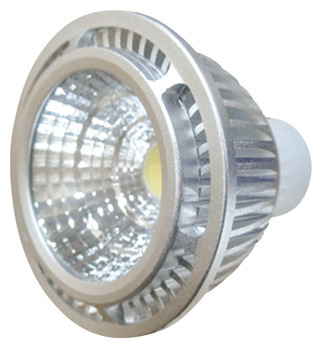 LED Lamp, GU10, 5 W, Non-Dimmable, COB
