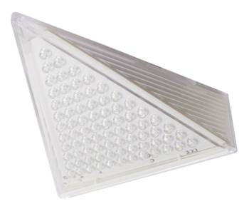 LED Light 240 V, Rated IP20, Triangular Light