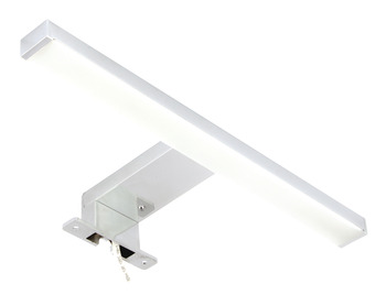LED Mirror Light 240 V, Light Width 304 mm, 5.6 W, Rated IP44