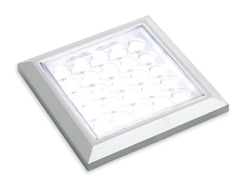 LED Spotlight 12 V, 64 mm x 64 mm, Rated IP 20, Loox Compatible LED HE Matrix