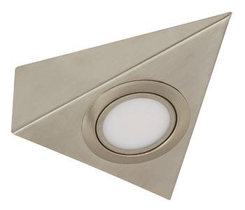 LED Wedge Light 12 V, Triangular, Rated IP 20, 2.4 W, Loox Compatible