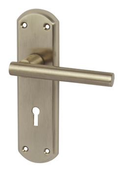 Lever Handles, on Backplates for Lever Lock, Zinc Alloy, Varthen