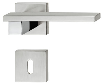 Lever Handles, on Square Roses, Zinc Alloy, Urban, Startec