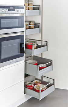 M-Stax Larder Unit with Drawers, Soft Close, 50 kg, MX