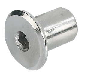 M6 Sleeve Nut, with SW4 Hexagon Socket, Steel