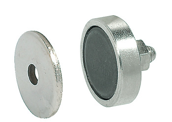 Magnetic Catch, Pull 3.0 kg, for Metal Cabinets