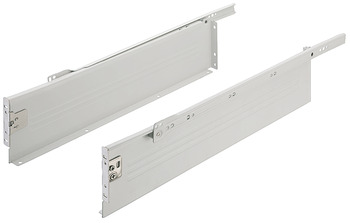 Metal Drawer Sides, Single Walled, 118 mm High, Häfele