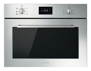Microwave Oven, Compact Combination, Finger friendly, 600 mm, Smeg Cucina