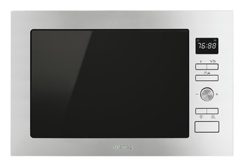 Microwave Oven, Compact with Grill, Smeg Cucina