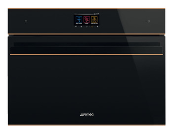 Microwave Oven, Wi-Fi, Compact Combination, 450 mm Height, Smeg Dolce Stil Novo Vivo