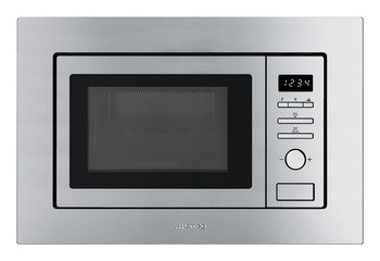 Microwave Oven, with Electric Grill, Finger Friendly, Depth 320mm, Smeg