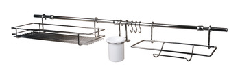 Midway Railing Set, with Components Included, 1000 mm