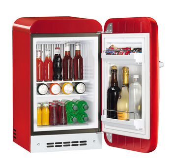 Minibar Cooler, Freestanding, Total capacity 33 Litres, Smeg 50's Retro Style