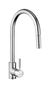 Mixer Tap, Single Lever, Pull Out Spray, Rangemaster Aquatrend
