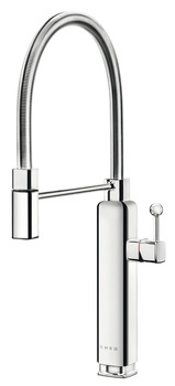 Mixer Tap, Single Lever With Pull Out Spray, Smeg 50's Retro Style