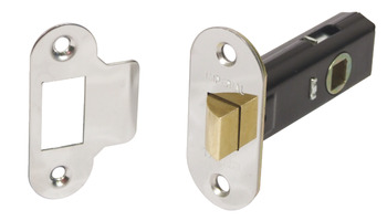 Mortice Latch, Tubular, Latchbolt Operated by Lever Handles
