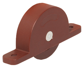 Mortice Roller, for Sliding Cabinet Doors, Light Duty Fittings
