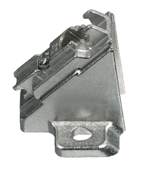 Mounting Plate, 45° Angle, for Grass Click On System Hinges
