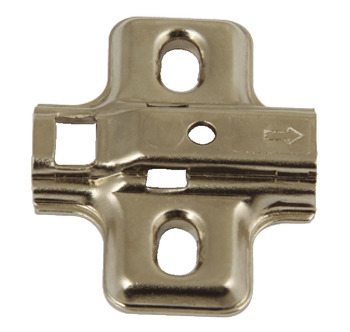 Mounting Plate, for Häfele Click On Concealed Hinges, One Part Plate