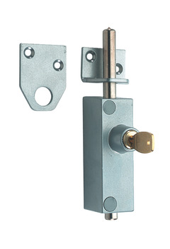 Multi-Purpose Lock, 138 x 27 x 45 mm, Steel and Brass