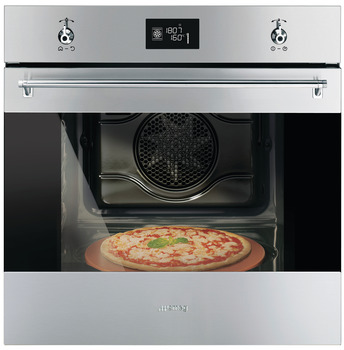 Multifunction Oven, Multifunction Pizza Oven, 600 mm, Smeg Classic