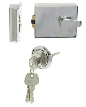 Nightlatch, Rollerbolt, Cylinder Rim, Standard Case