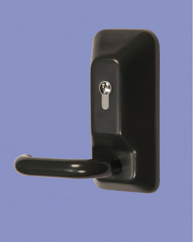 Outside Access Device, for Heavy Duty Panic Bolt, Cast Stainless Steel Body