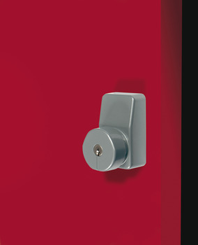 Outside Access Device, for use with Panic Exit Devices, 100 x 58 mm, Diecast Aluminium