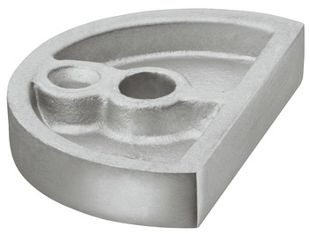 Pad, for Floor Mounted Door Stop, Aluminium