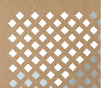 Panel, Decorative, Slatted, MDF