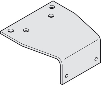 Parallel Arm Bracket, parallel arm installation, for Dorma TS 71, TS 72, TS 73 V, TS 83