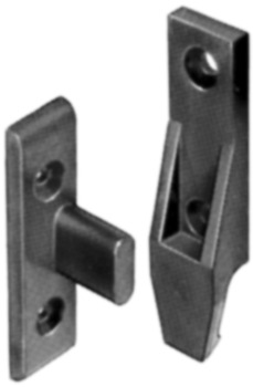 Partition Fasteners , EH Set, Surface Mounted, Keku