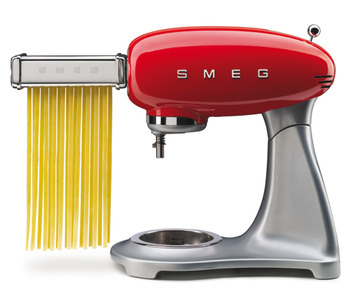 Pasta Roller and Cutter Set, for 50's Retro Stand Mixers, 3 Piece, Smeg