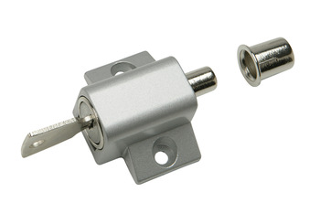 Patio Door Lock, for Hinged and Sliding Doors, Steel