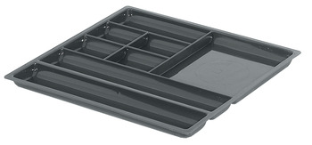 Pen and Pencil Tray, with Eight Compartments, Plastic