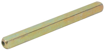 Piercing Spindle, 8 mm Square, for 'Startec' and Other Levers, Zinc plated steel