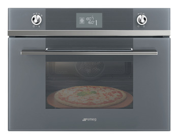 Pizza Oven, Compact Pyrolytic, Smeg Linea