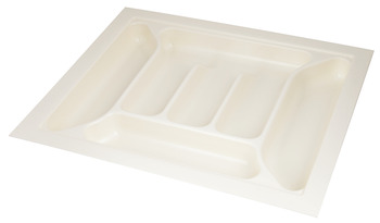 Plastic Cutlery Insert, for Cabinet Depth 600 mm, for Cabinet Width 300-600 mm