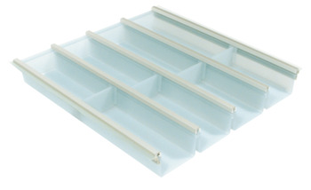 Plastic Cutlery Insert, for Drawer Depth 450-500 mm, Cuisio