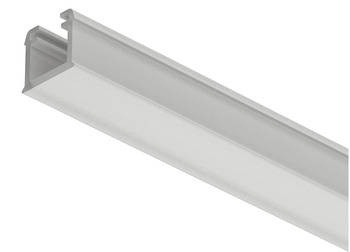 Plastic Profile, for Recess Mounting Loox 5 LED Strip Lights, 1101