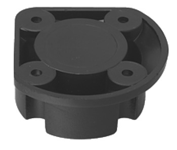 Plinth Foot Top Section, Screw Mounting