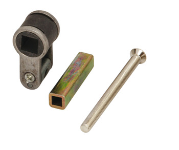 Profile Cylinder Adapter, to Convert to Bathroom Use