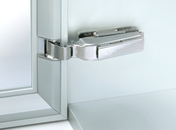 Profile Frame Hinge, 95° Nexis, with Click on Arms, Grass