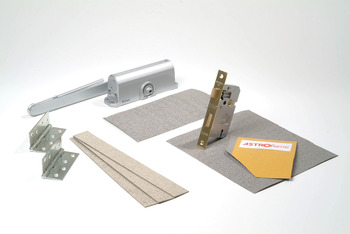 Protection Pack, Ironmongery, Graphite Based Intumescent Material