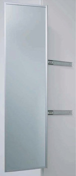 Pull Out Pivoting Mirror, Extension Length (Including Mirror) 350 mm