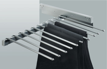 Pull Out Trouser Rack, Unhanded, Width 465 mm
