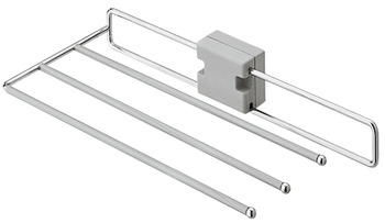 Pull Out Trouser Rack, Width 244 mm (222 mm without Spacer)