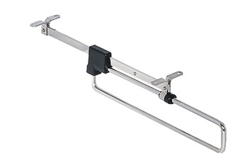 Pull-Out Wardrobe Rail, Length 260-460 mm, Load Capacity 3-8 kg