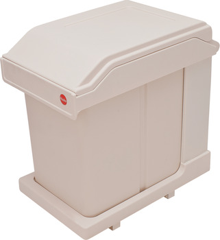 Pull Out Waste Bin, 20 Litres, Hailo Solo