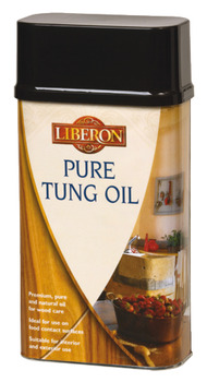 Pure Tung Oil, Size 1 litre, for Wood Care
